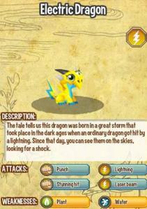 Điểm yếu và sức kháng cự của các loại rồng trong game Dragon City, combat trong game dragon city, dac tinh cac loai rong
