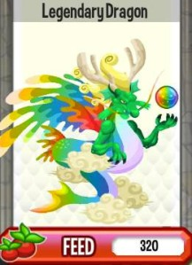 Giới thiệu về rồng huyền thoại Legendary Dragon trong game Dragon City, legendary dragon, rong huyen thoai, cac loai rong dragon city, cach tao rong huyen thoai., cach tao legendary dragon