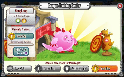 Hướng dẫn cách Training Skill trong Game Dragon City, dragon city, cách training skill, game dragon city