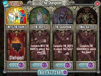 Tổng hợp hướng dẫn về Event Dungeon Island