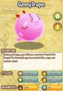 Giới thiệu về Gummy Dragon trong game Dragon City, gummy dragon, game dragon city, cac loai rong dragon city, cach tao gummy dragon